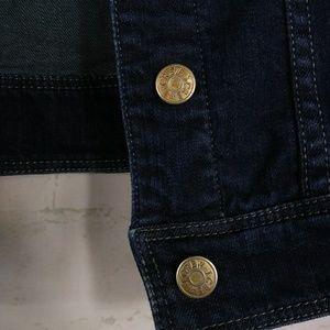 J. Crew Jackets & Coats - J. Crew XS Jean Denim Jacket Long Sleeve Dark